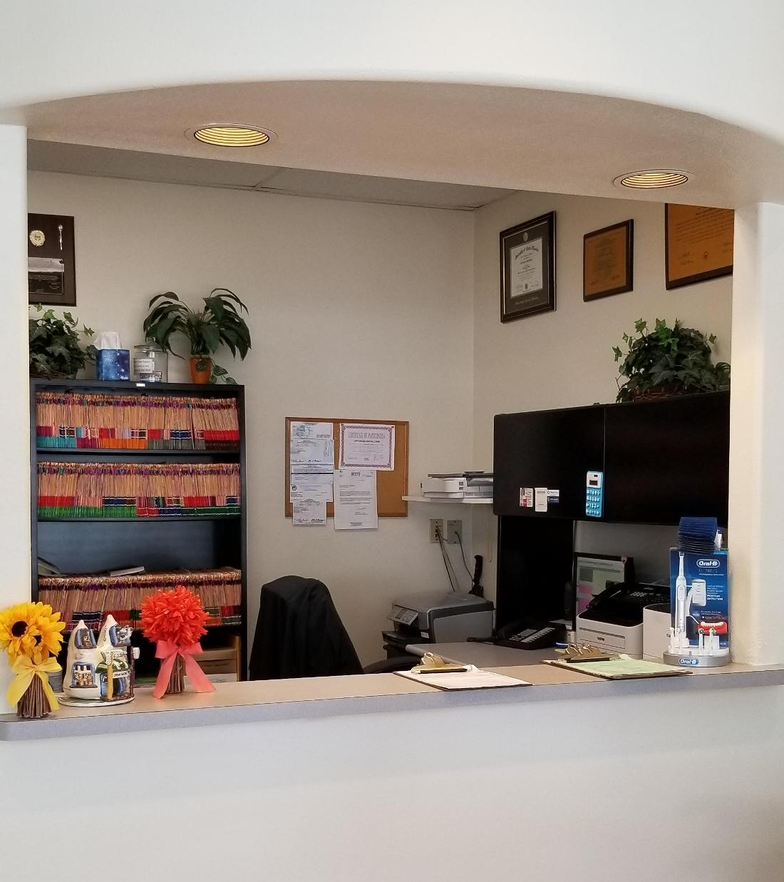 front desk to advanced dental care